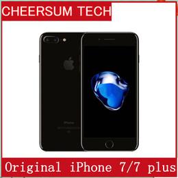 Refurished 100% Original Apple iPhone 7  7 plus ios10 Quad Core 2GB RAM 32GB 128GB 256GB ROM 12.0MP 4K Video 4G Mobile phone free dhl