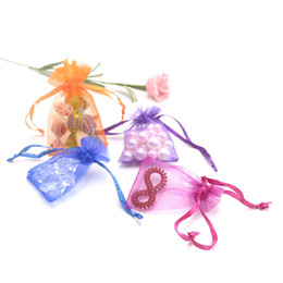Small Drawstring Pouches!Wholesale 100pcs lot 20Colors Mixed Organza Jewelry Gift Pouch Bags 9x12cm Drawstring Bag Free Shipping