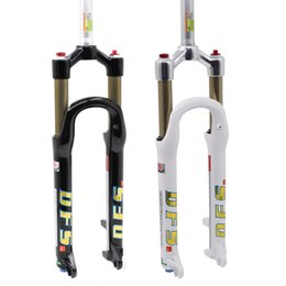 """DFS air fork DFS-RLC 26er 27.5er suspension mountain fork bicycle MTB fork smart lock out damping adjust 100mm travel 1-1 8"""""""
