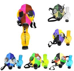 Party GAS Mask Water Hookah Pipe Bang SHISHA Water pipe Random (Color) Gas Mask Bong Hookah Smoking (Rasta mask)