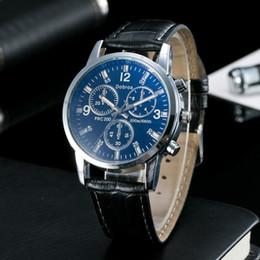 Reloj de cuero masculino del reloj de hombre de la manera Envío libre luminoso