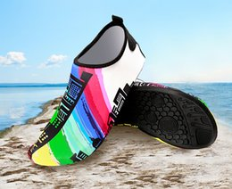 Home Outdoor Garden Shoes Barefoot Swimming Jogging Beach Lawn Quick-Dry Aqua Yoga Socks Slip-on for Men Women Kids