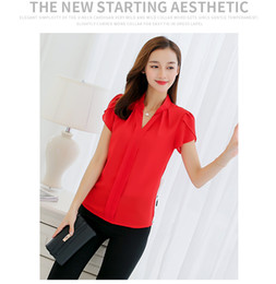 Fashion body repair large size short sleeve casual playing chiffon shirts