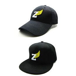 LDSLYJR 2018 Z Wings embroidery cotton Baseball Cap hip-hop cap Adjustable Snapback Hats for kids and adult size 83