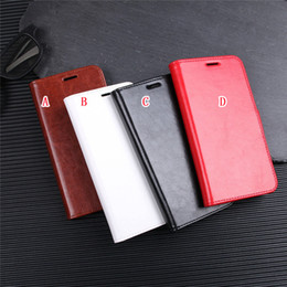 Crazy Horse Wallet Leather Case For Huawei P30 Honor 8X MATE 20 PRO Sony Xperia XA2 PLUS OPPO F9 LG X Power 3 Stand ID Card Photo Skin Cover