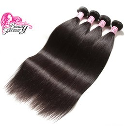 Beauty Forever 8A Malaysian Straight Hair Weaves 4 Bundles 8-30inch 100% Human Hair Extension Double Weft Good Quality Human Hair Bundles