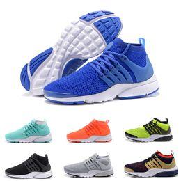 2017 TOP Air PRESTO Breathe Black White Mens Basketball Shoes Sneakers Women Air Presto Running Shoes Men Sports Shoe Walking designer shoes