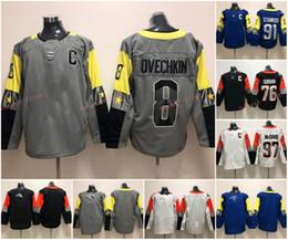 2018 All-Star Game Hockey Jersey Mens 8 Alex Ovechkin 76 P.K. Subban 91 Steven Stamkos 97 Connor McDavid 100 % Stitched Hockey Jerseys