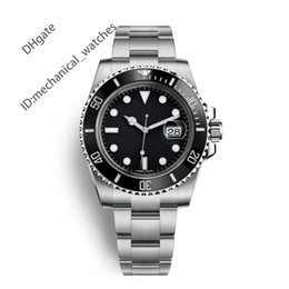 AAA Men Sports Watch Quality Watches Men Luxury Brand Automatic Movement Watch 40mm Ceramic Bezel 116610 Waterproof 50M