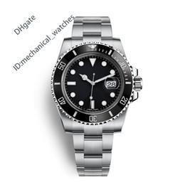 AAA Hombres Reloj deportivo Relojes de calidad Hombres Marca de lujo Movimiento automático Reloj 40mm Bisel de cerámica 116610 Impermeable 50M