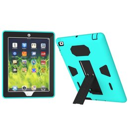 3 in 1 Military Extreme Heavy Duty waterproof shockproof defender case Cover for ipad air ipad 234 ipad mini
