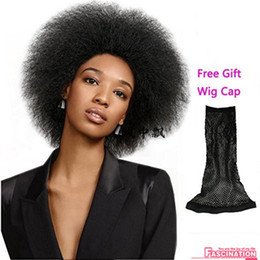 Fashion Short Black Sexy Wig High Quality Classical Style Wig Kinky Curly Synthetic Hair Full Wigs Celebrity Wig Wholesal
