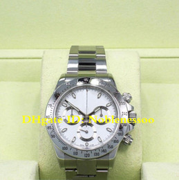 9 Style CAL.4130 Movement Luxury 40mm Steel Mens white Chrono Watch 116520 116519 116500LN 116500 Automatic Mens Watches