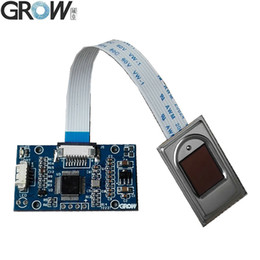 GROW R306 Biometric Capacitive FPC1011F3 Fingerprint Access Control Module Scanner With Windows And Android System