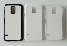 for samsung galaxy S3 S4 S5 2d Hard PC case sublimation case + print aluminium plate 100pcs
