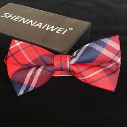 high quality fashion 2018 men casual Cotton bow tie men's bowties for man cravat Plaid bowtie Gravata lot