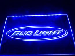 LA001-b Bud Light Beer Bar Pub Club NR Neon Light Signs