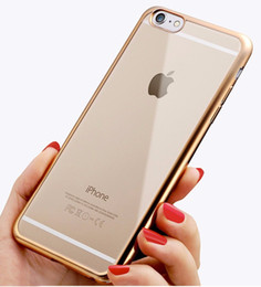 New Fashion Plating Crystal Silicone TPU Bumper Phone Cases Cover Shell for IPhone x 8 7 7s 6 6s Plus 5s Samsung Galaxy S5 S9 Plus S7 Edge