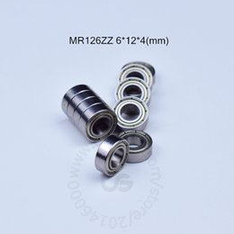 MR126ZZ ABEC-5 bearing Metal Sealed Miniature Bearing Free shipping MR MR126 MR126ZZ 6*12*4MM chrome steel deep groove bearings