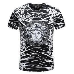 2018 Men's Spring Summer Casual Business T-shirt Classic Shirt Men's Shirt Classic Men's T-Shirt Trend T-Shirt 2129659