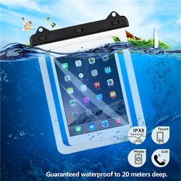 Universal Waterproof Case Bag Tablets Dry Bag Pouch for iPad Samsung Galaxy Tab Huawei MediaPad Lenovo Tab Amazon eBook Up to 9.7inch