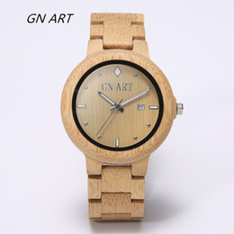 Wholesale Japan Quartz New Style 2017 Wooden Watch