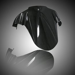 Black Carbon Fiber ABS Plastic Rear Fender Hugger for Suzuki GSXR1000 2009-2013