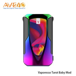 Vaporesso Tarot Baby 85W Mod Built-in 2500mAh Battery With 0.96 inch TFT Screen Fit NRG SE Tank 100% Original