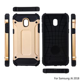Armor Hybrid Defender Case TPU+PC Shockproof Cover Case FOR Samsung Galaxy J4 J6 2018 J8 2018 A6 A6 PLUS NOTE 9 220PCS LOT