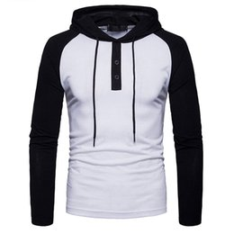 Mens Pullover Shirt For Hoodie Mens Cardigan Hoodie For White New Fashion Casual long sleeve T Shirt For Mens Shirt Drop Shopping