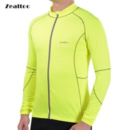 Green Cycling Jersey Mtb Bicycle Clothing Bike Wear Clothes long sleeves Maillot Roupa Ropa De Ciclismo Hombre autumn