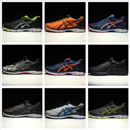 Asics GEL-KAYANO 23 Men Women Running Shoes High Quality Cheap Training 2016 Lightweight Walking Sport Shoes Free Shipping Size 4-11