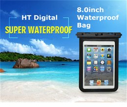 Universal Waterproof Case IPX8 Waterproof Tablets Pouch Dry Bag Compatible for iPad Samsung Huawei Lenovo Tablets Amazon eBook UP to 8.0inch