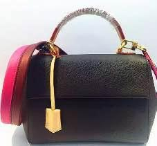 Best quality bags handbags women famous brands Genuine Leather handbags discolour crossbody bag floral print bag quality M42735- M43653