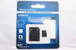 90pcs lot DHL64GB Micro SD TF Memory Card With Adapter Class 10 TF Memory Cards with Free SD Adapter Retail Package