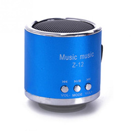 New aluminum speakers Portable Speaker Portable mini speaker digital audio radio speakers char