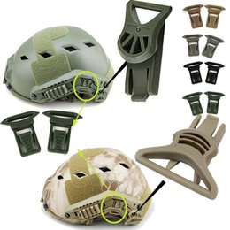 Outdoor Gear Airsoft Paintball Shooting Tactical Airsoft Fast Helmet Accessory OPS-CORE Swivel Clips 19 36mm Rotating Clamp Goggles Buckle