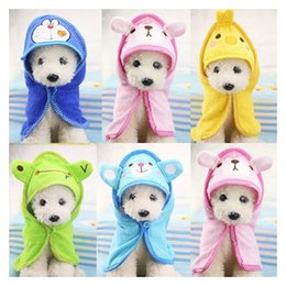 Wholesale Pet Supplies Dog Towel Drying Towels Fashion Pet Bath Towels Cute Pattern Soft Cleaning Cloth