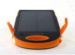 Solar Three-Color Android and IOS Power Bank with 12,000 Ah(nominal,10,000 actually)
