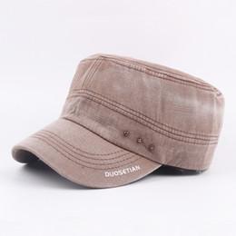 Bulk Lots 7 Colors Flat Top Retro Cotton Cap Snapbacks Caps Autumn  Casquette Baseball Cap Designer Hats Dad Hat Bucket Fitted Hats eb054ee633df
