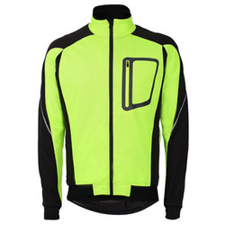 2018 Mens Ropa Ciclismo Cycling Jackets Windproof Waterproof Coat Keep Warm Green blue red black Winter Cycling Clothing