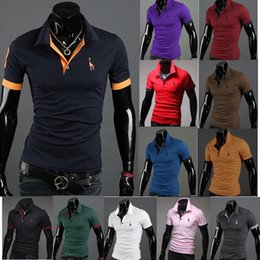 Stylish new men's short-sleeved T-shirt embroidered with short sleeves and comfortable short-sleeved t-shirts
