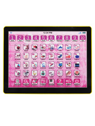 Mini learning machine hot selling English PAD children ' s intelligence toy early childhood puzzle of tablet learning machine