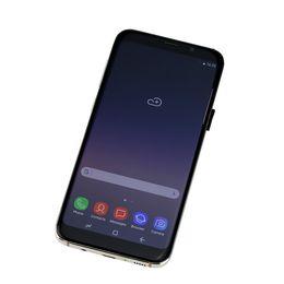 Fingerprint Goophone 9 plus note 8 1G RAM 8G 16G ROM Full Screen 6.2inch 3G Cellphone Show 4G LTE android7.0 Quad Core Unlocked Phone