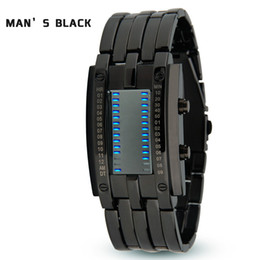 Hombres Led Sports Diver Watch big Bang Reloj de pulsera para señoras Niñas Binary Watches Business AAA
