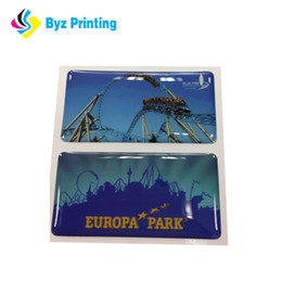 Custome OEM Epoxy stickers resin labels,flags epoxy stickers,sticker labels printing