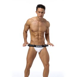 2018 Men Sexy Underwear Briefs Gay Penis Pouch Mens Bikini Brief Underwear Man Sleepwear Cotton