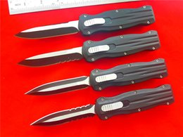 4 Styles BM pagan A10 B207 double action AUTO Tactical knife 440C steel survival gear knife knives with nylon sheath