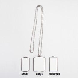 Sublimationheat press Metal dog tag + blank printable aluminium plate 10 piece lot