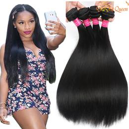 8a Brazilian Straight Virgin Hair Bundles Unprocessed Peruvian Malaysian Indian Human Hair Extensions Brazilian Virgin Hair Straight
